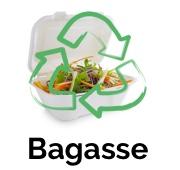 vaisselle jetable écologique en bagasse