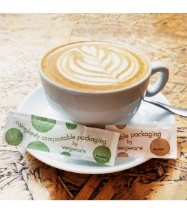STICK 1.8 GR SUCRE ROUX EQUITABLE EMBALLAGE COMPOSTABLE