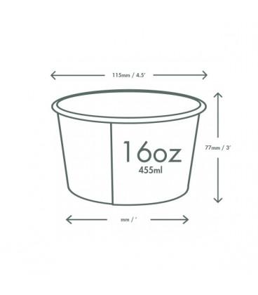 BOL À SOUPE / GLACE 500 ML - 500 BOLS