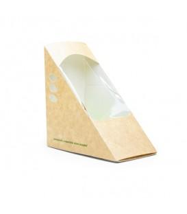 Boîte à sandwich triangulaire 6.5 cm - 500 boîtes