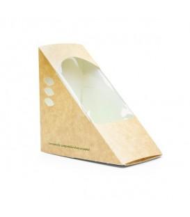 Boîte à sandwich triangulaire 7.5 cm- 500 boîtes