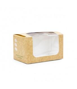 Boîte à sandwich rectangulaire - 500 boîtes