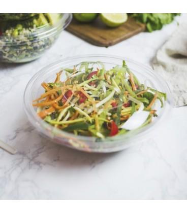 Bol à salade en PLA 710 ml transparent et écologiques