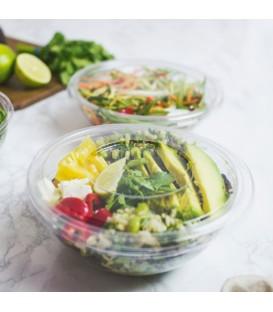 Couvercle pour bols à salade en PLA