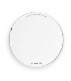Couvercle blanc pour bol large - 300 couvercles
