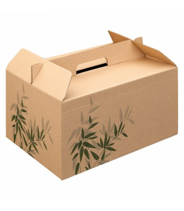 Boîte de transport de repas - 100 boîtes