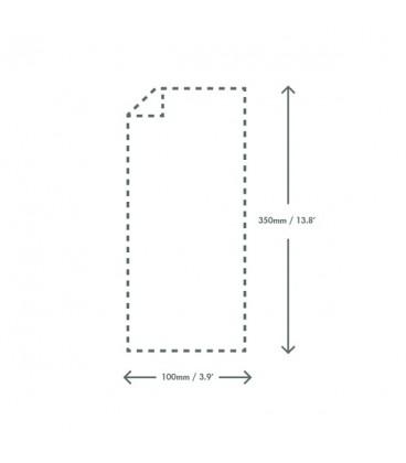 Sachet transparent en natureflex 10x35 cm - 1000 sachets