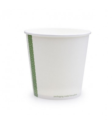 POT soupe et glace ROND PLA 720 ml COMPOSTABLE - vaisselle jetable biodégradable