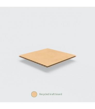 Boîte repas Premium Burger 24,5 x 12 cm - 100 boîtes
