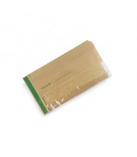 Sachet kraft et PLA résitant aux graisses 15x28 xm - 1000 sachets