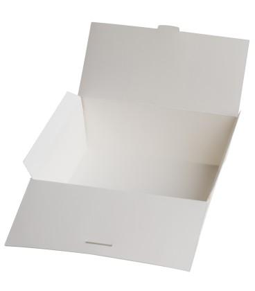 Boîte en carton blanche 100% papier 1000 ml