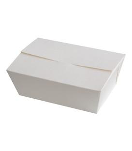 Boîte en carton blanche 100% papier 1500 ml