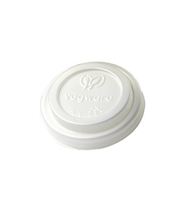 COUVERCLE CPLA POUR GOBELET 120 ml COMPOSTABLE