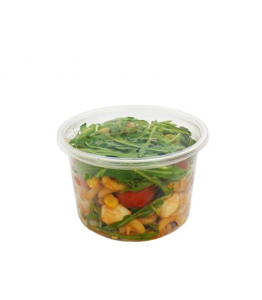 POTS ROND DELI PLA 500 ml COMPOSTABLE