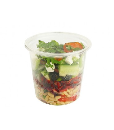 POTS ROND DELI PLA 720 ml COMPOSTABLE