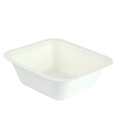 BASE GOURMET EN BAGASSE 1000ML COMPOSTABLE - COUVERCLE TAILLE 4