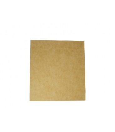 PAPIER ALIMENTAIRE non blanchi RESISTANT AUX GRAISSES 380X275MM COMPOSTABLE