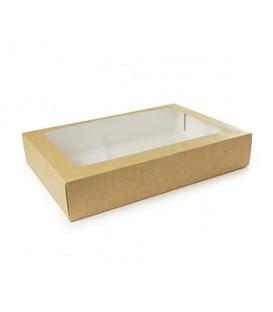 Grande boîte pour plateau repas & inserts - 25 boîtes
