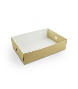 Compartiment de plateau par moitié - 50 boîtes