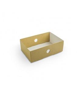 Compartiment de plateau par quart - 50 boîtes