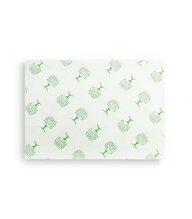Papier burger Green Tree 25 cm x 35 cm - 1000 feuilles