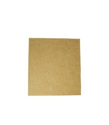 PAPIER ALIMENTAIRE non blanchi RESISTANT AUX GRAISSES 380X275x300MM COMPOSTABLE