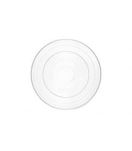 Couvercle plat en PLA pour bols à glaces de 360 ml à 1000 ml - 500 couvercles