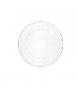 Couvercle plat pour bols à glace ou gobelets 175 ml à 275 ml - 1000 couvercles