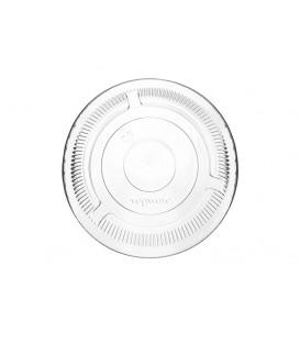 Couvercle plat sans trou en PLA pour tous les gobelets standards - 1000 couvercles