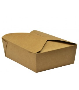 Boîte alimentaire kraft n°3 - 180 boîtes