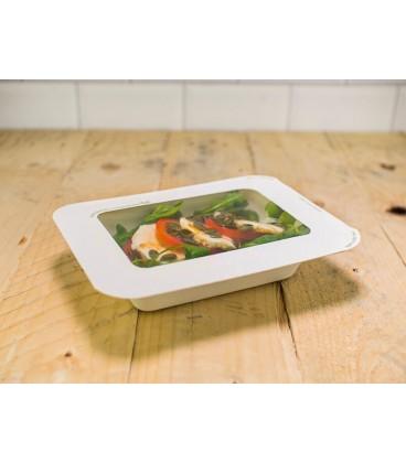 BASE GOURMET 360ML POUR COUVERCLE TAILLE 2 COMPOSTABLE - vaisselle jetable biodégradable